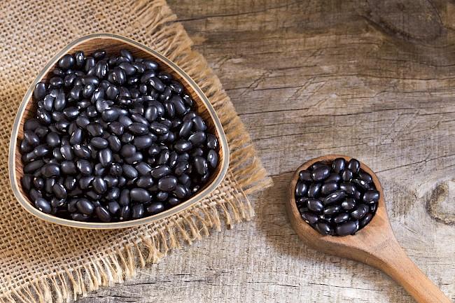 Czarna fasola - kalorie, kcal, ile waży