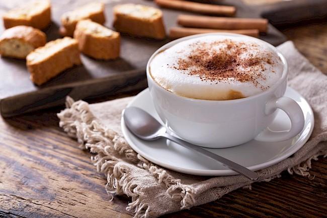 Cappuccino - wartości odżywcze, witaminy, minerały