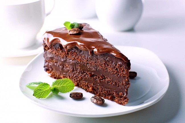 Ciasto czekoladowe (Murzynek) - kalorie, kcal, ile waży