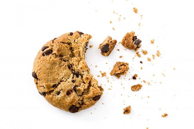 Ciastka z czekoladą - kalorie, kcal, ile waży