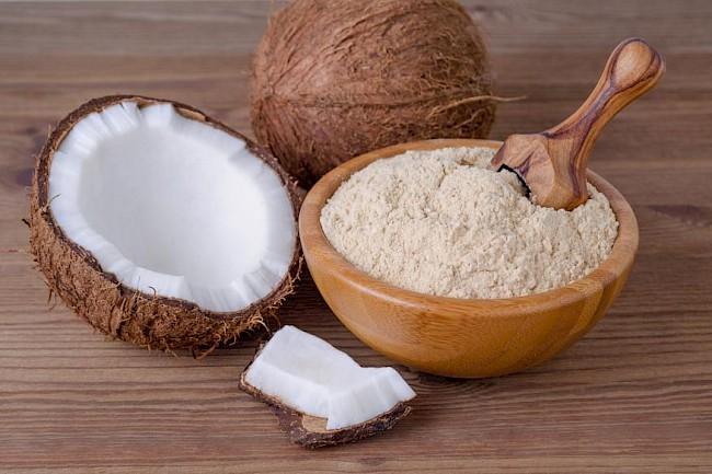 Mąka kokosowa - kalorie, kcal, ile waży