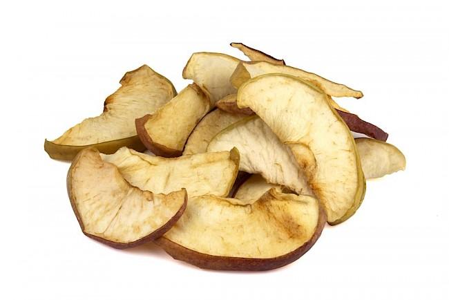 Jabłka suszone - kalorie, kcal, ile waży