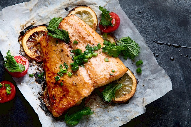 Ryba smażona - kalorie, kcal, ile waży