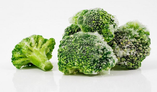 Brokuły mrożone - kalorie, kcal, ile waży