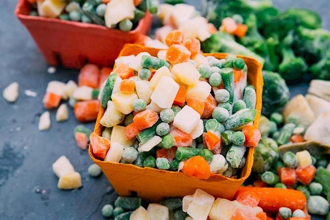 Warzywa mrożone - kalorie, kcal, ile waży