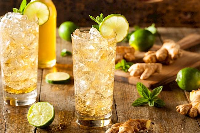 Piwo imbirowe - kalorie, kcal, ile waży