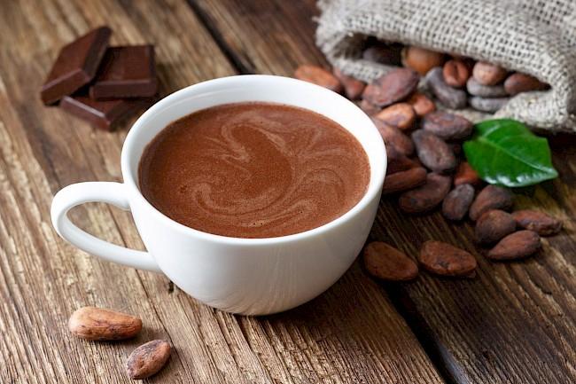 Gorąca czekolada - kalorie, kcal, ile waży