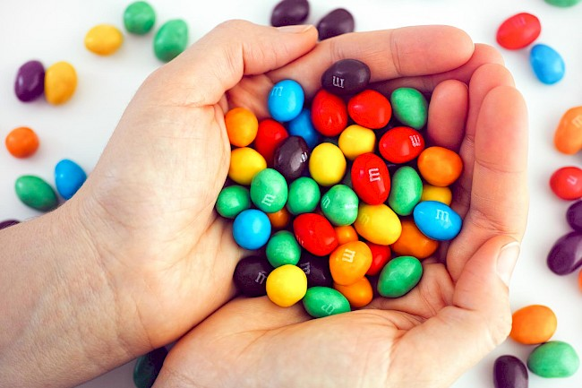 M&Ms - kalorie, kcal, ile waży