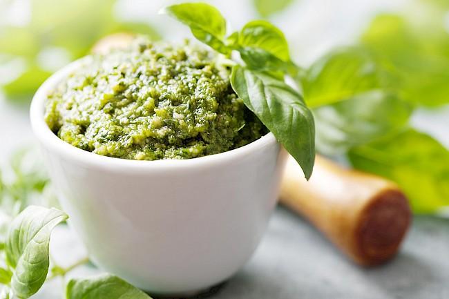 Pesto  - kalorie, kcal, ile waży