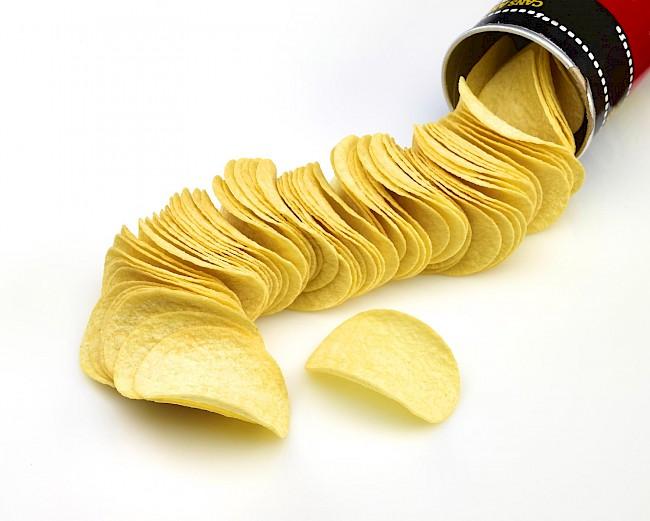 Pringles - kalorie, kcal, ile waży