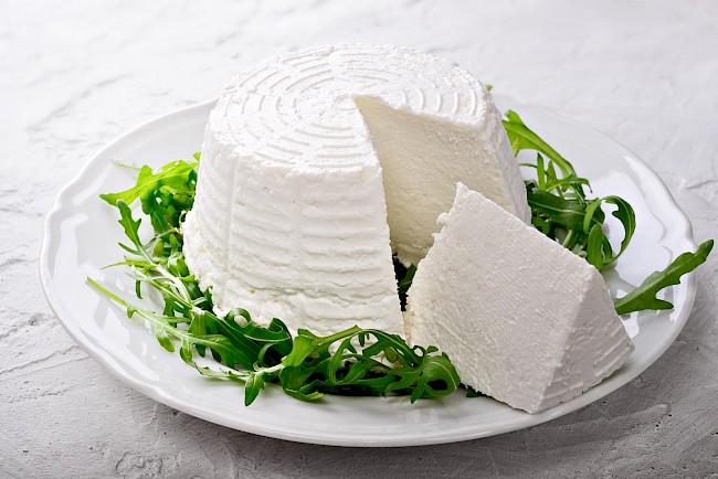 Ricotta - kalorie, kcal, ile waży