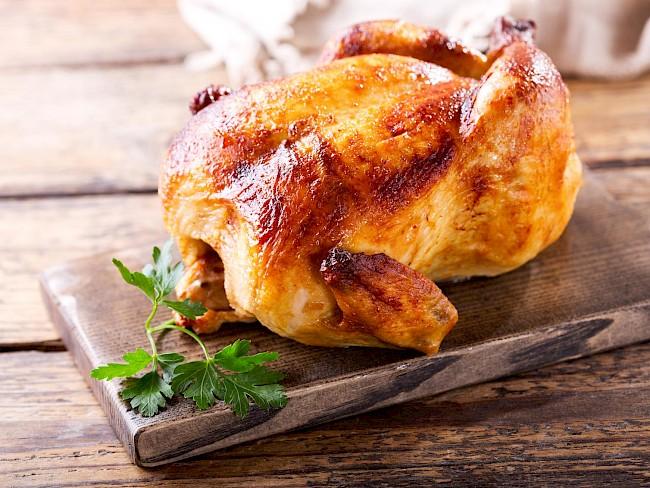 Kurczak z rożna - wartości odżywcze, witaminy, minerały