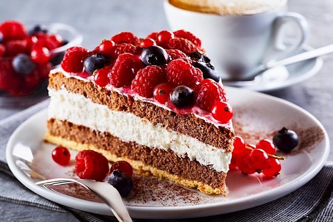 Tort - kalorie, kcal, ile waży