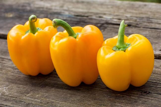 Papryka żółta - kalorie, kcal, ile waży
