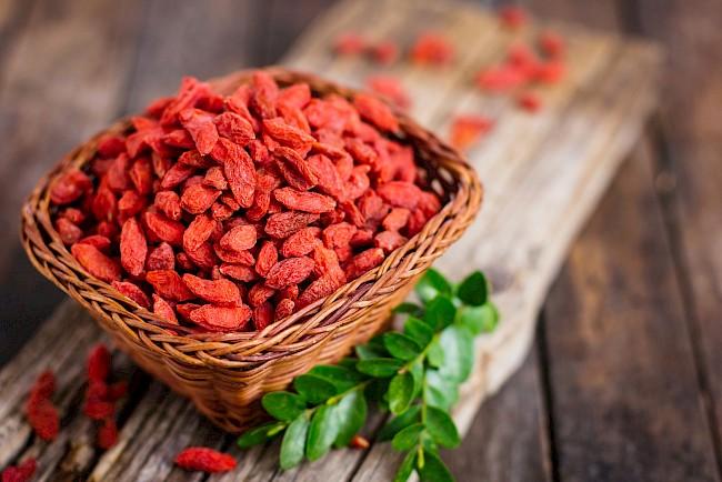 Jagody Goji - kalorie, kcal, ile waży