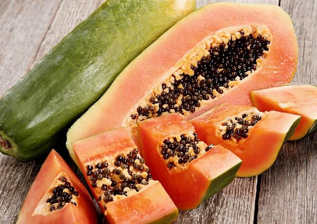 Papaja - kalorie, kcal, ile waży
