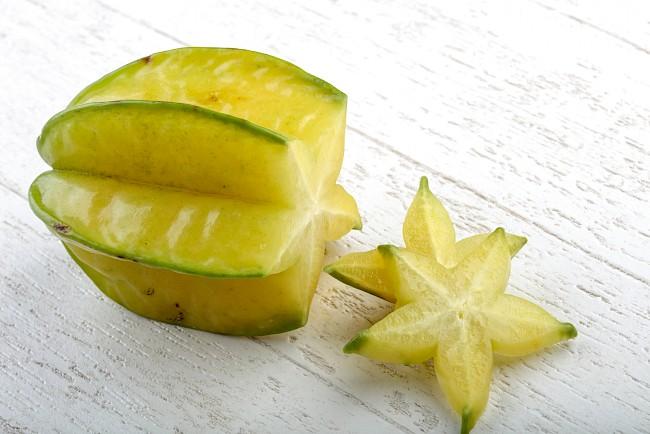 Carambola (oksomian pospolity) - kalorie, kcal, ile waży
