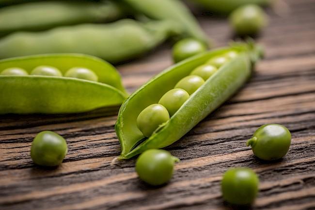 Groszek - kalorie, kcal, ile waży