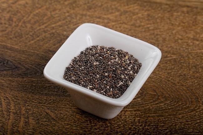 Chia (nasiona) - kalorie, kcal, ile waży