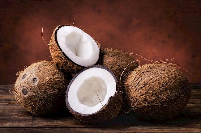 Kokos - kalorie, kcal, ile waży