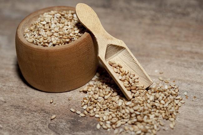 Sezam - kalorie, kcal, ile waży