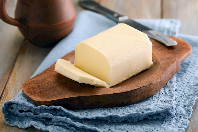 Masło - kalorie, kcal, ile waży