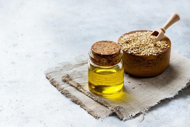 Olej sezamowy - kalorie, kcal, ile waży