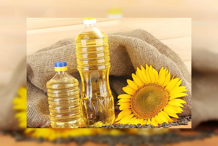 Olej (słonecznikowy) - kalorie, kcal, ile waży