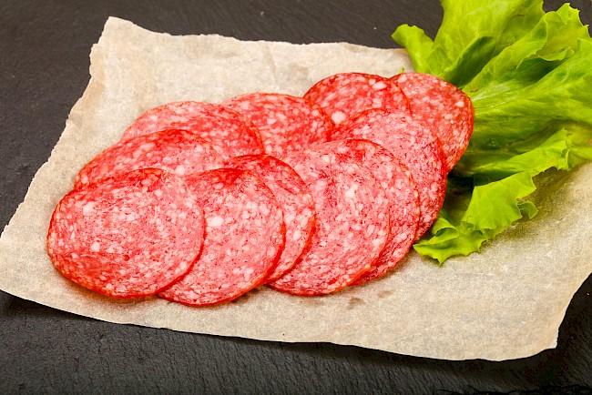Salami - wartości odżywcze, witaminy, minerały