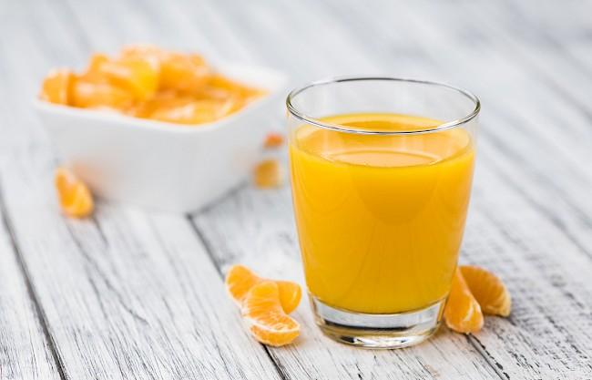 Sok mandarynkowy - kalorie, kcal, ile waży