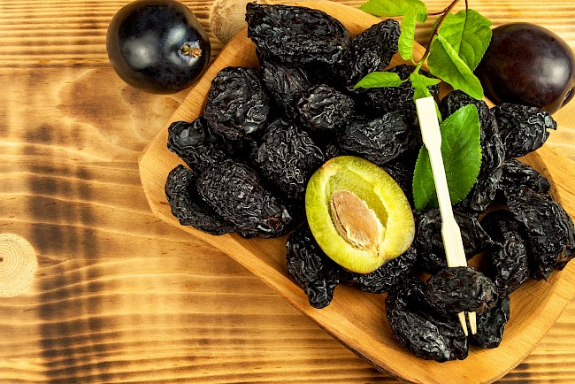 Śliwki suszone - kalorie, kcal, ile waży