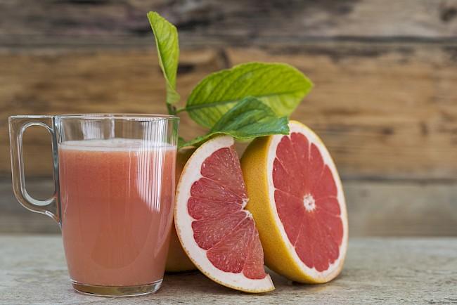 Sok grejpfrutowy - kalorie, kcal, ile waży