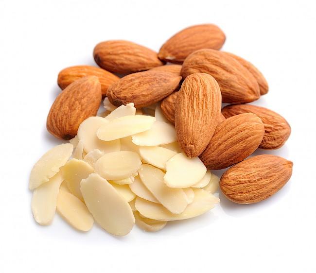 Płatki migdałowe - kalorie, kcal, ile waży