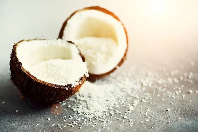 Wiórki kokosowe - kalorie, kcal, ile waży