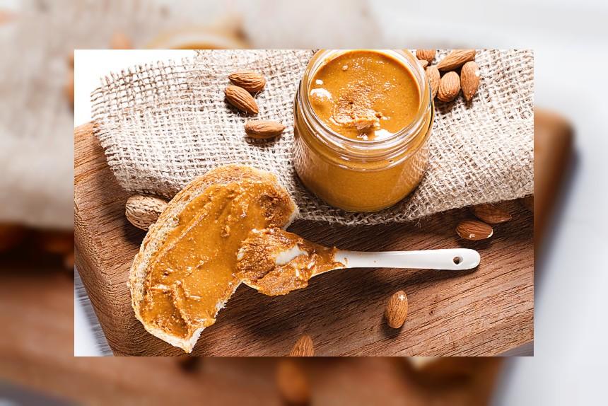 Masło migdałowe - kalorie, kcal, ile waży