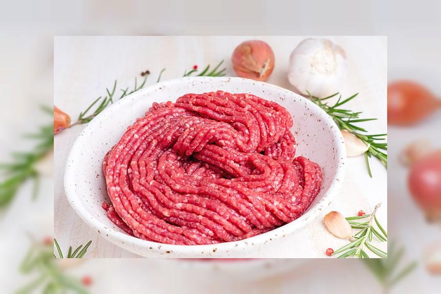 Mięso mielone wołowe - kalorie, kcal, ile waży