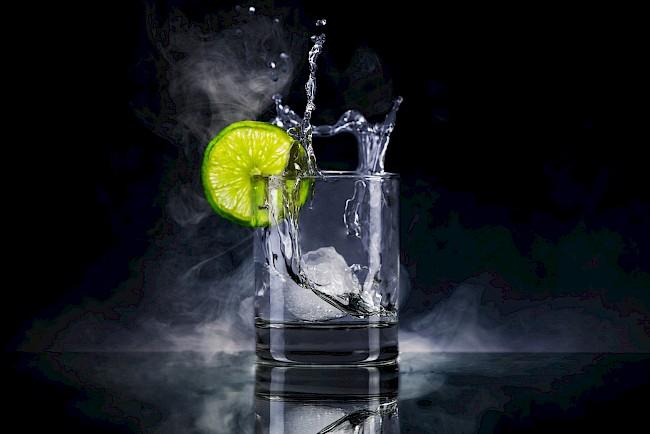 Gin - kalorie, kcal, ile waży