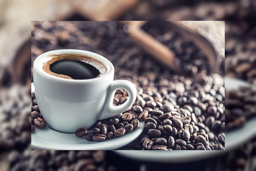 Kawa czarna - kalorie, kcal, ile waży