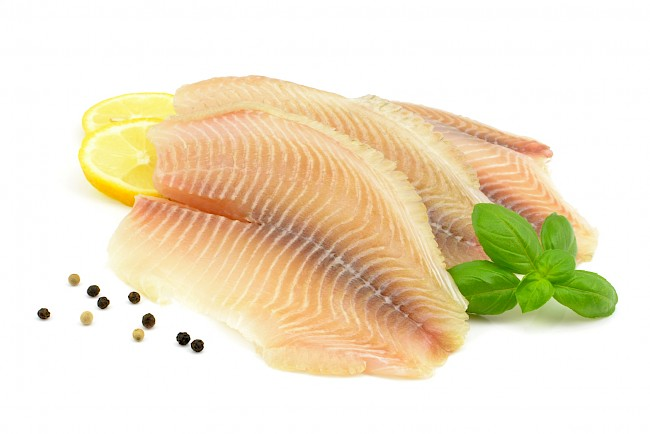 Tilapia (filet, mięso) - kalorie, kcal, ile waży