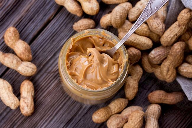Masło orzechowe - kalorie, kcal, ile waży