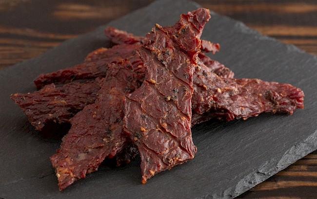 Suszona wołowina - kalorie, kcal, ile waży