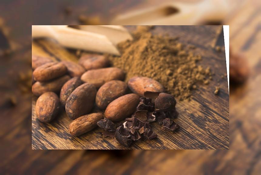 Kakao (mielone lub ziarna) - kalorie, kcal, ile waży
