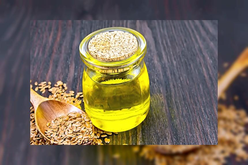 Olej lniany - kalorie, kcal, ile waży