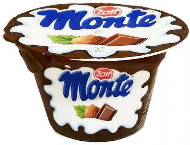 Monte - kalorie, kcal, ile waży
