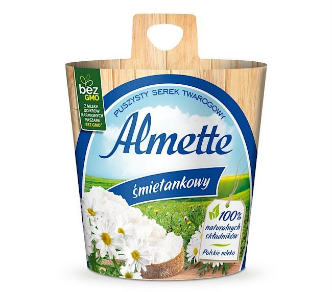 Almette - kalorie, kcal, ile waży