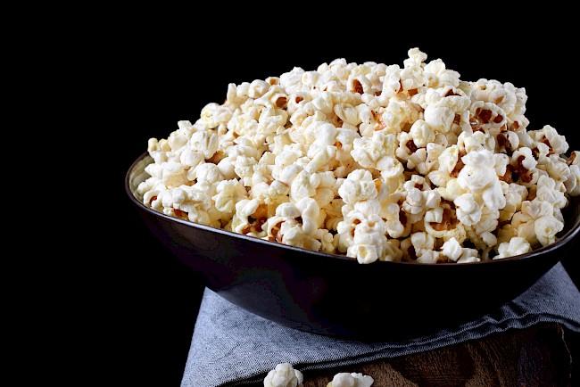 Popcorn - kalorie, kcal, ile waży
