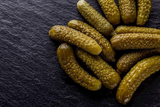 Ogórek kiszony (małosolny) - kalorie, kcal, ile waży