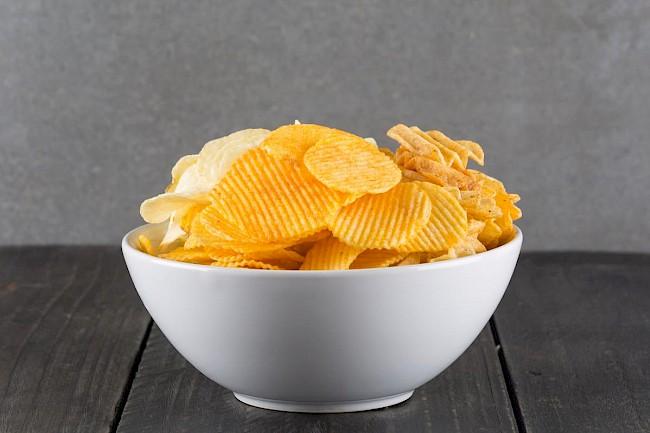Chipsy - wartości odżywcze, witaminy, minerały