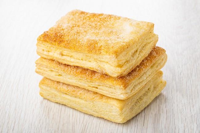 Ciasto francuskie - kalorie, kcal, ile waży
