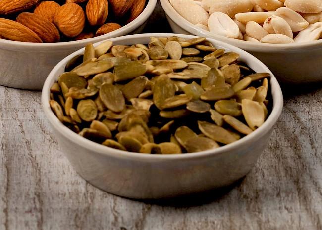 Pestki dyni - kalorie, kcal, ile waży